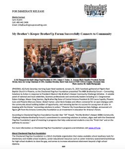 CFR Press Release