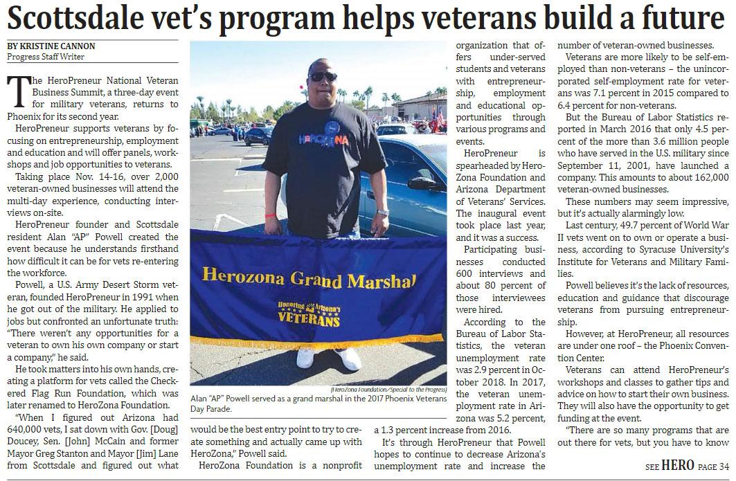 Scottsdale Vet's Program helps veterans build a future